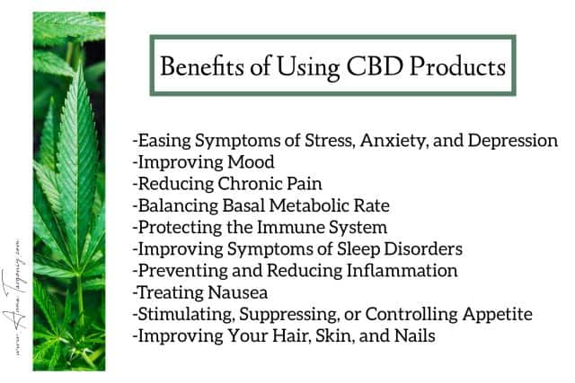 beneficial properties of CBD products for skin care