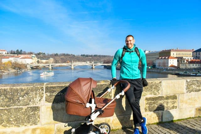 the best baby stroller for tall people